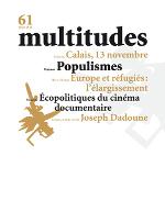 61. Multitudes 61. Hiver 2015