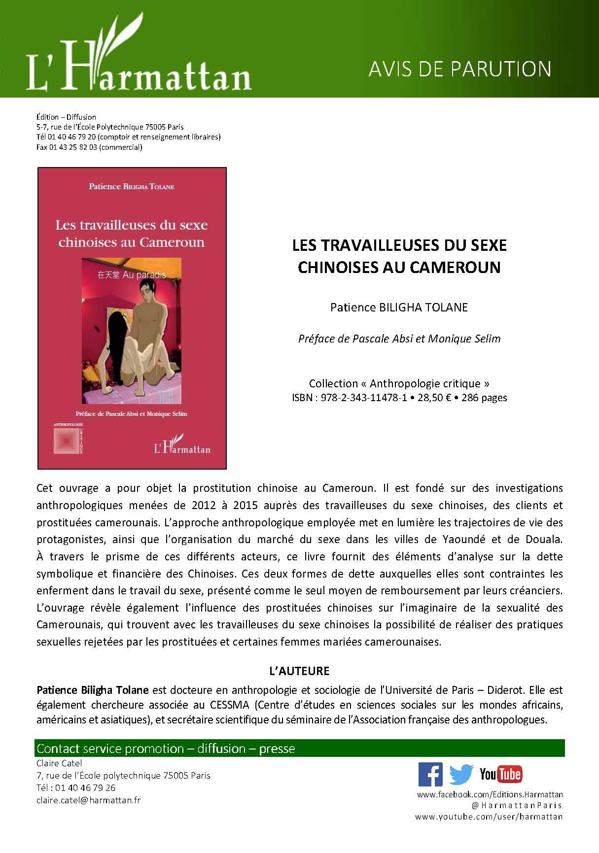 Flyer Les travailleuses du sexe  chinoises au Cameroun_Page_1