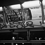 Subculture, 1983, IRT subway trains, New York - Group Material