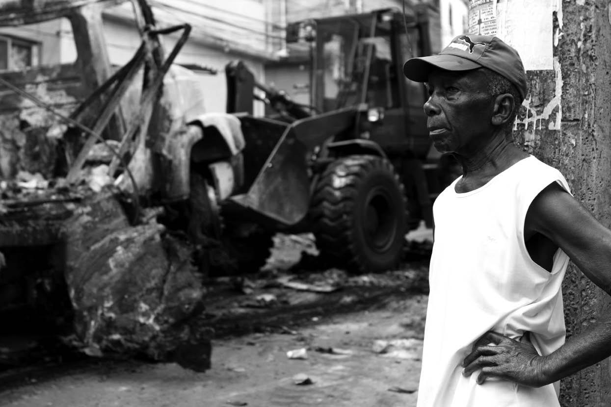 Naldinho Lourenço, Occupation de la Rocinha