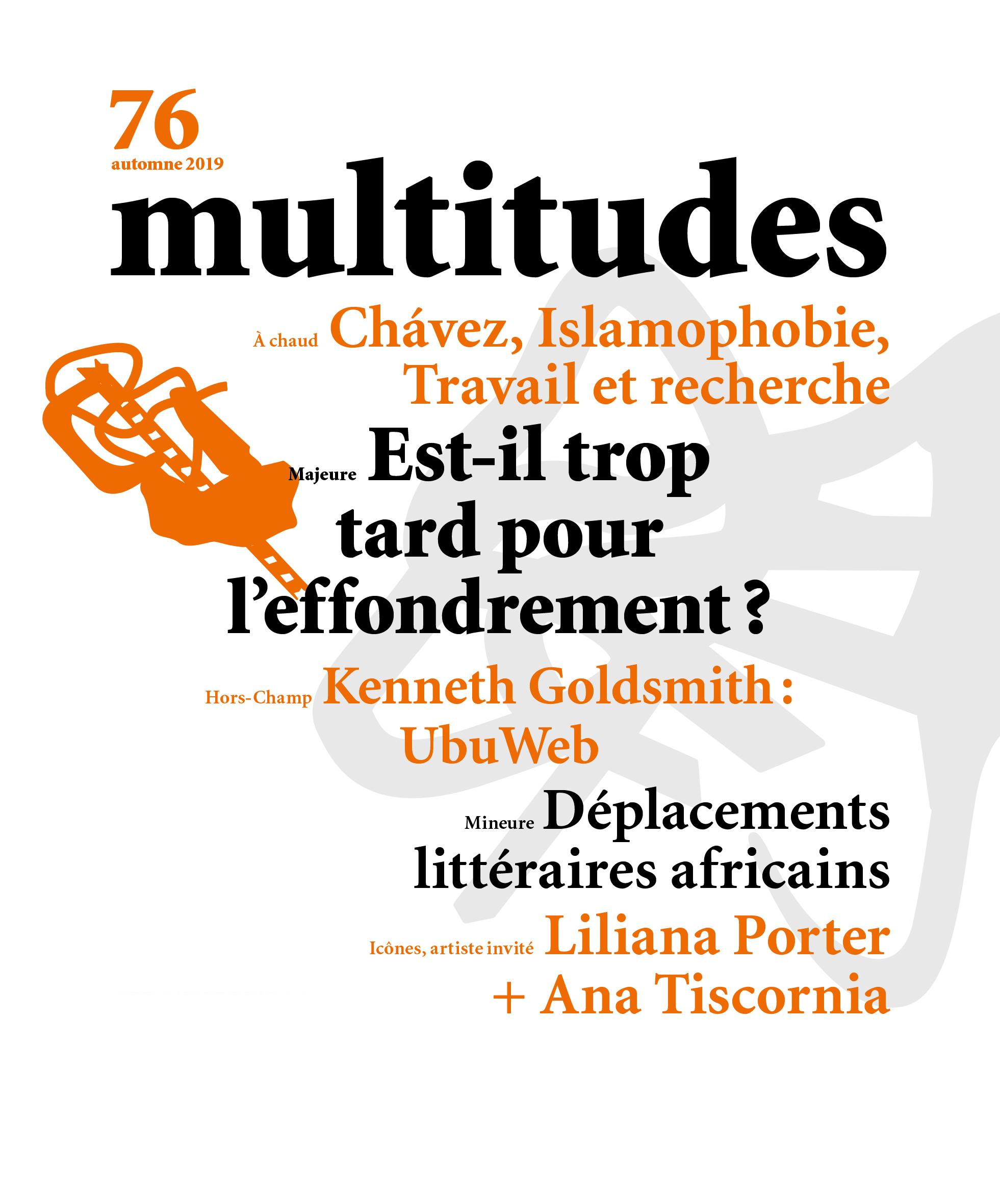 76. Multitudes 76. Automne 2019